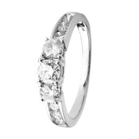 Fashion ring i hvidguld 1.00 ct | By Gotte´S