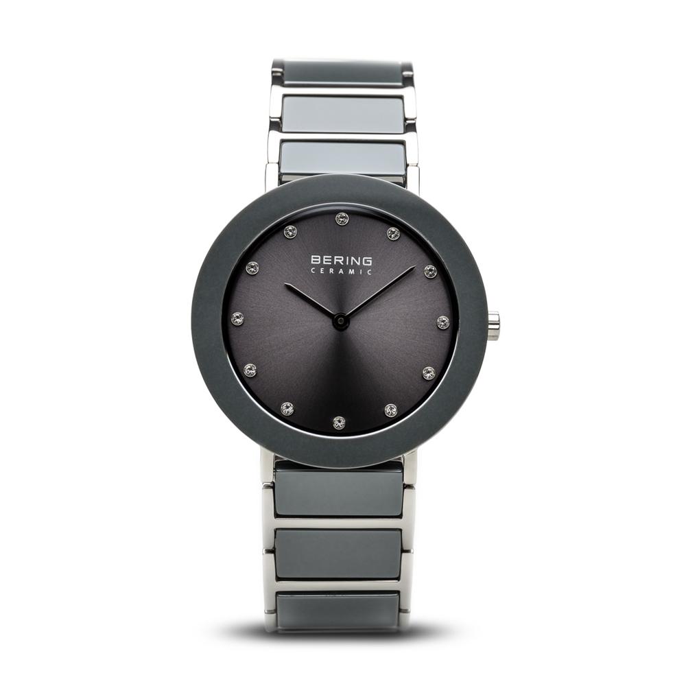 d35dec06722 Dame ur fra Bering Time, Ceramic   sølv poleret   11435-789 - Køb ...