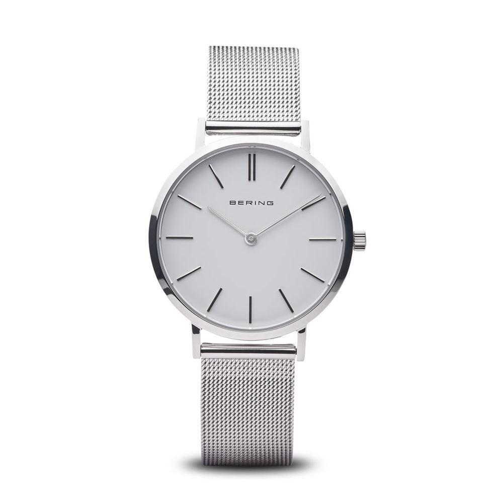 128a672b083 Dame ur fra Bering Time, Classic   sølv poleret   14134-004 - Køb ...