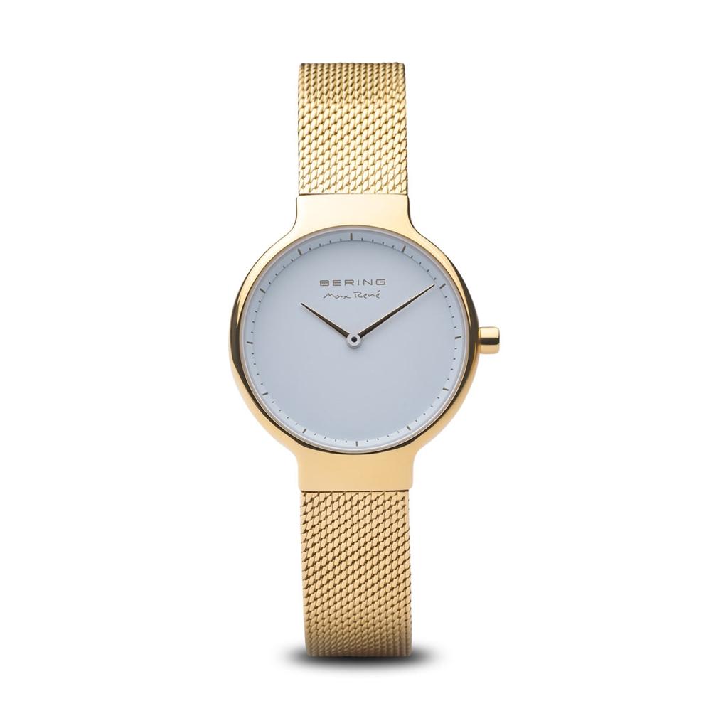 47bd7a8c965 Dame-ur fra Bering Time, Max René   guld poleret   15531-334 - Køb ...