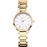 Classic dameur poleret guld  | Bering Time